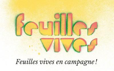 Feuilles vives prend ses quartiers au bar de Chambon-sur-Cisse !
