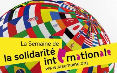 Courant d'air pour la Semaine de la Solidarité Internationale!!!