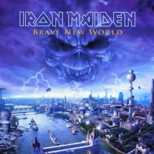 Pochette du douzième album d'Iron Maiden : Brave New World (2000)