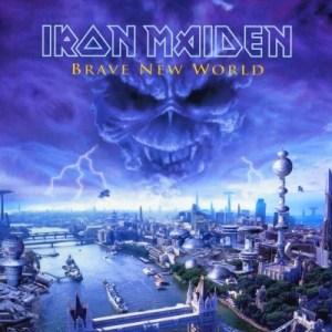 Pochette du douzième album d'Iron Maiden : Brave New World (2000)