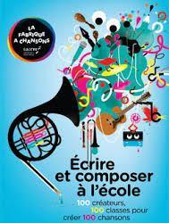 Les élèves de CM1/CM2 de l'école primaire de Torteron composent avec Bastien Lucas, auteur-compositeur