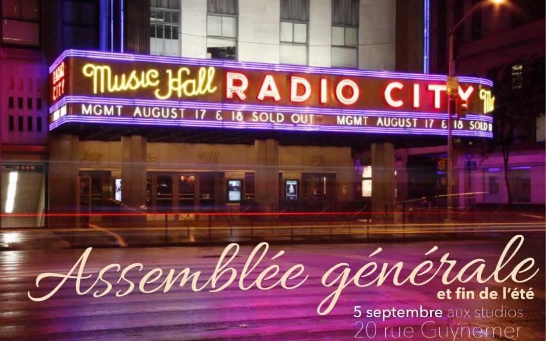 5 septembre – une nouvelle saison de radio