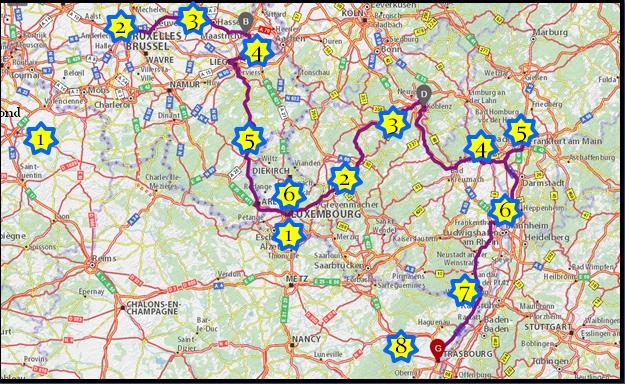 EuroVéloCit #4 : Retour sur le weekend et dernier jour à Luxembourg