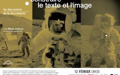 La discussion de février – Construire le texte et l'image