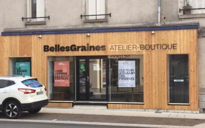 La Chose Commune #3 La boutique atelier «Les Belles Graines»