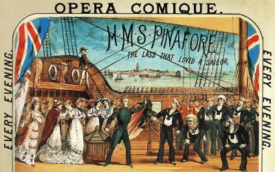 Vienne, Paris, Broadway #4 : Le H.M.S. Pinafore