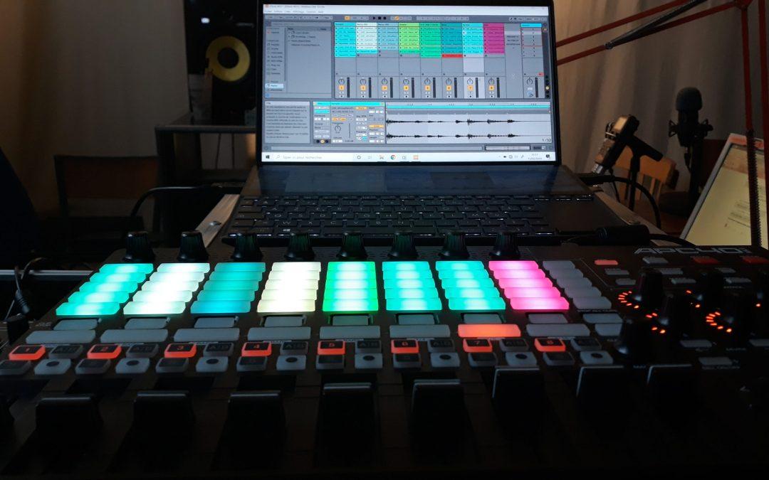 Mix Station – Handymix – Live Afro + Techno – APC40 –