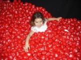 Emily having fun at the TDU Village