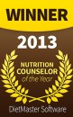 Studioz Personal Training Nutrition Counsellor of the year