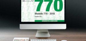 Modello 770 anno 2018: presentazione, correzione e integrazione