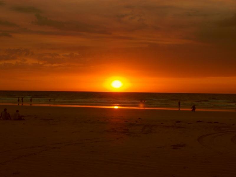 Broome Australien Cable Beach Sonnenuntergang 1156