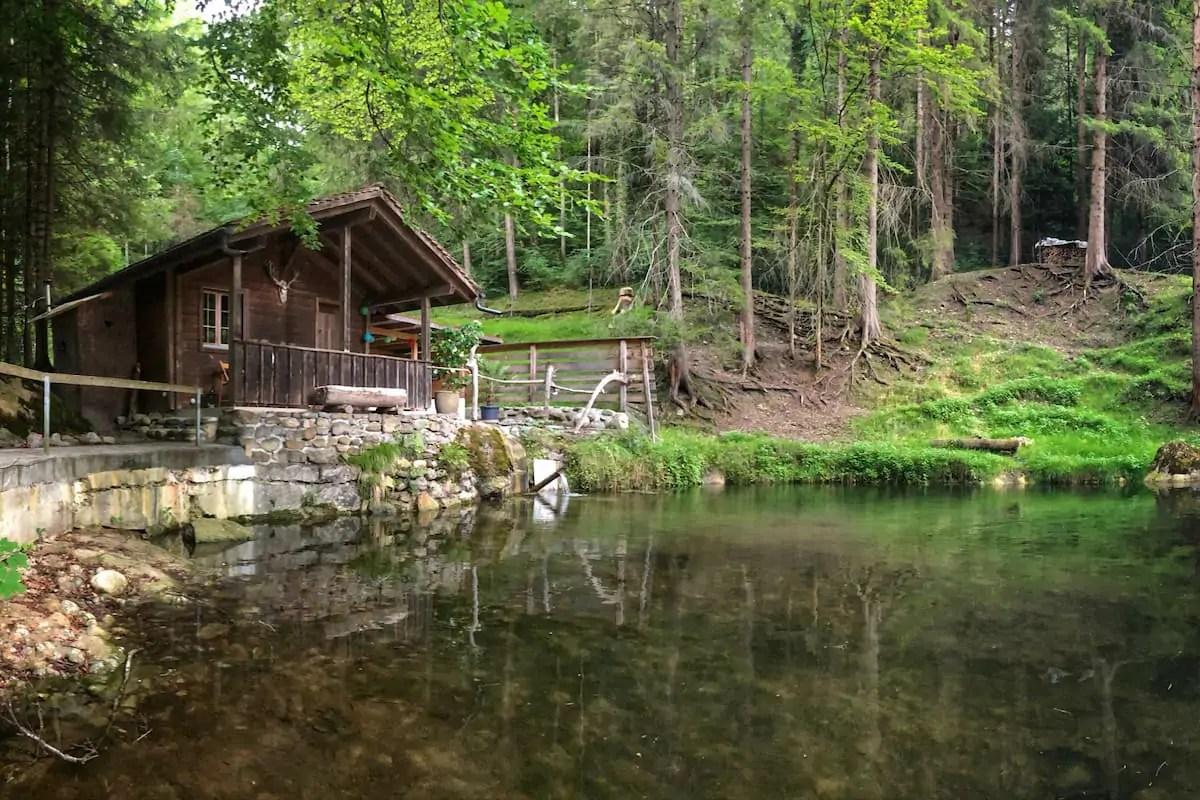 Huettli See Sigriswil