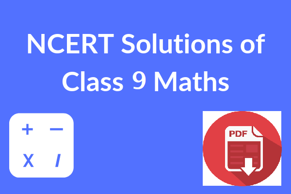 NCERT-Solutions-of-Class-10-Maths PDF