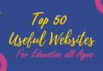 top most 50 websites for Educational 2020-21