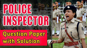 Police inspector old question papers 2020