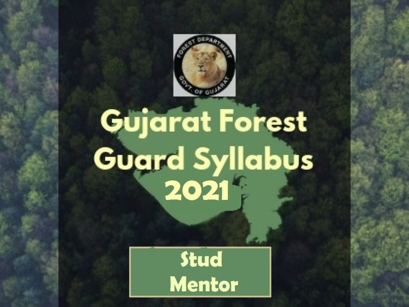 Gujarat-Forest-Guard-Vanrakshak -Syllabus-2021