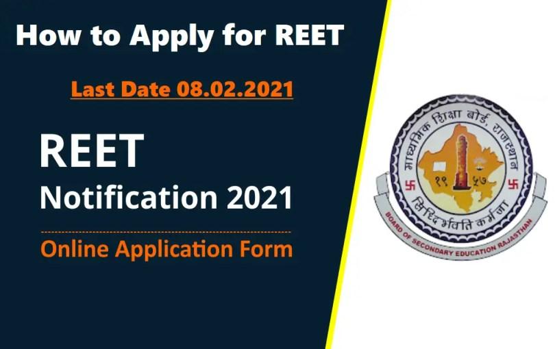 REET-Notification-2021-Online-Application-Form on Stud Mentor