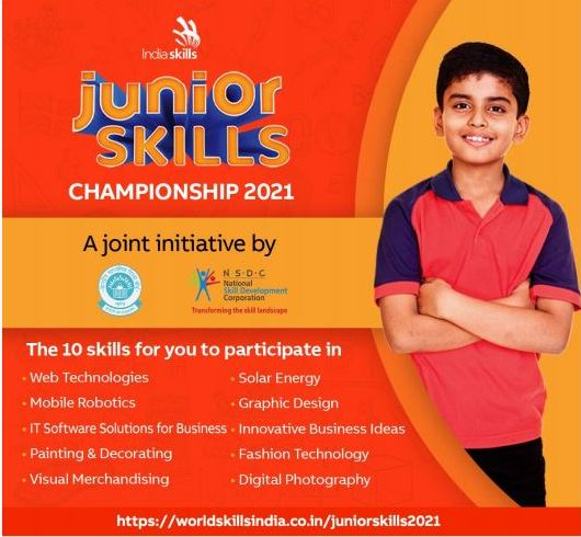 Junior Skill 2021 benefits and categories