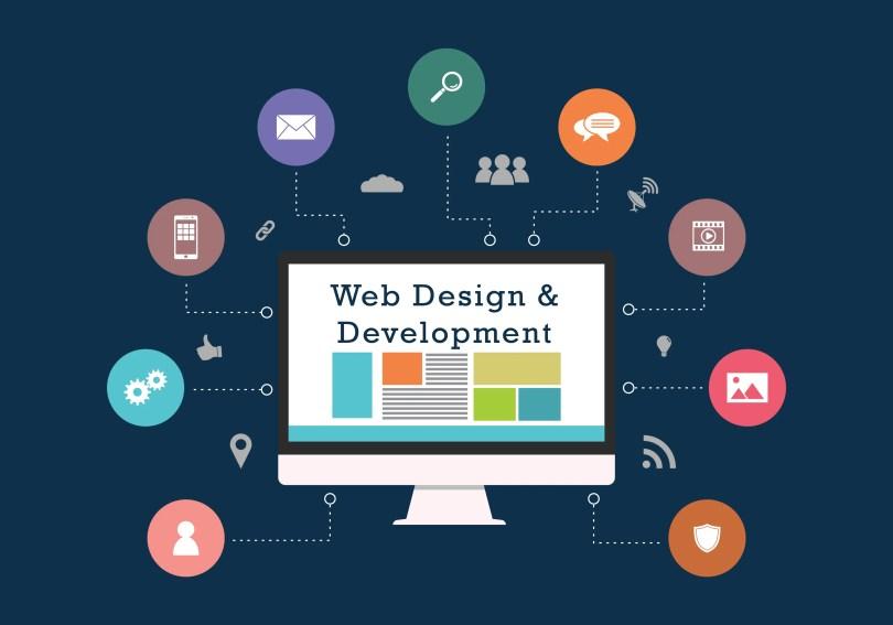 1. Website Designing