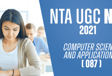 What are the best ways to prepare for UGC NET for Computer Science Department 2021