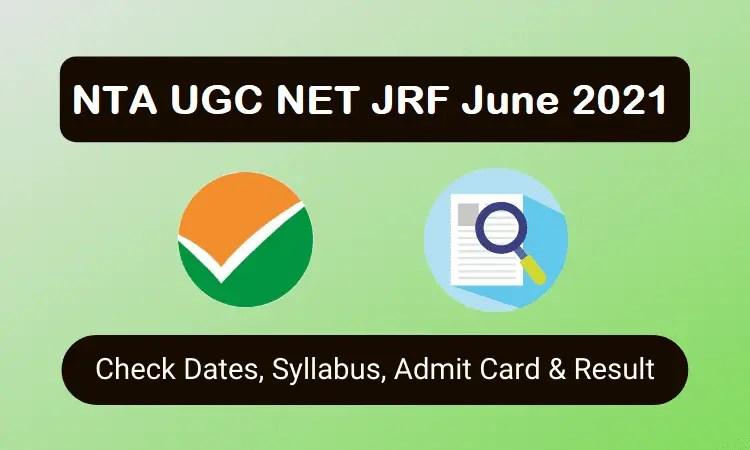 How to Apply NTA UGC NET JRF June 2021 - Notification Declared