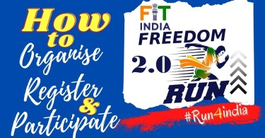 How to Register for Fit India Freedom Run 2.0 Steps given 2021