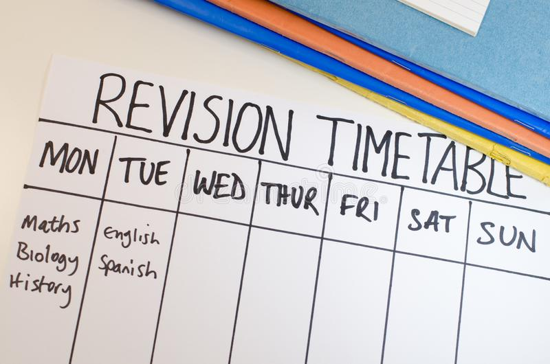 revision-study-timetable
