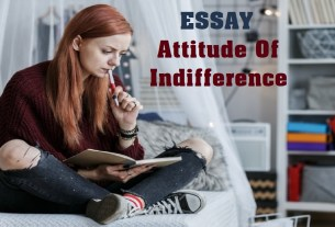 Attitude Of Indifference