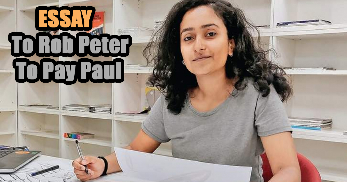 To Rob Peter To Pay Paul