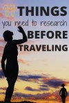11 things before traveling