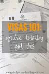 Visas 101