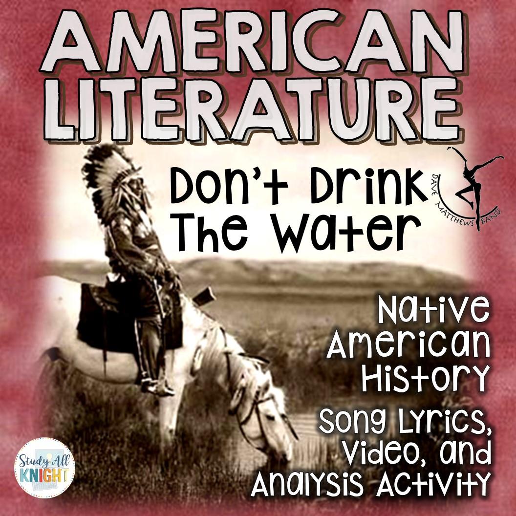 Native American Literature Lessons Lyrics Teacher Notes
