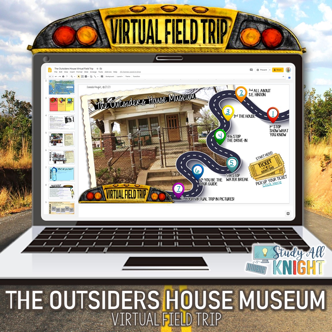 Virtual Field Trip The Outsiders House Museum And Drive