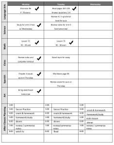 Time Management Tips Planner