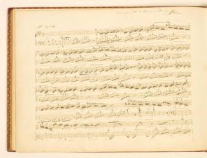 manoscritto della Fantasia improvviso op. 66