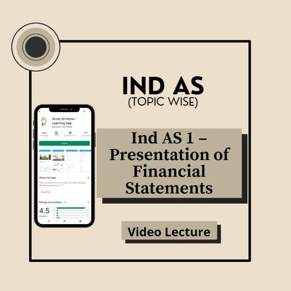 Ind AS 1 - Presentation of Financial Statements