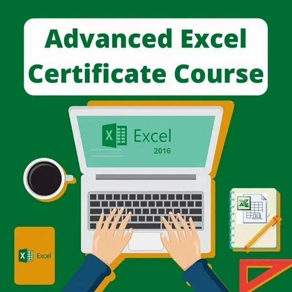 Advanced Excel Certificate Course by CA Anurag Singhal
