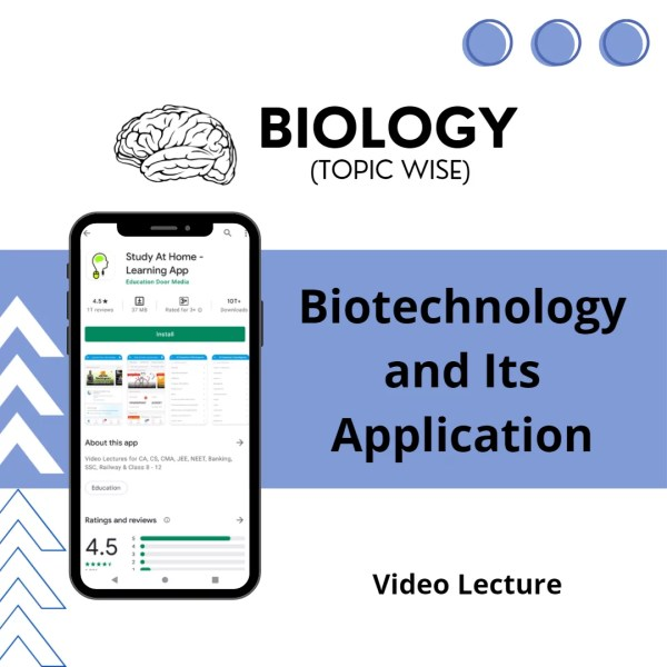 Biotechnology and Its Application