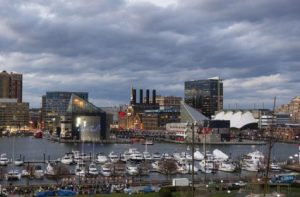Skyline of downtown Baltimore
