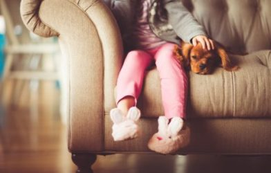"""a new study finds that """"man's best friends"""" offer a very therapeutic role for stressed children."""