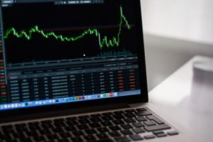 Stocks on computer