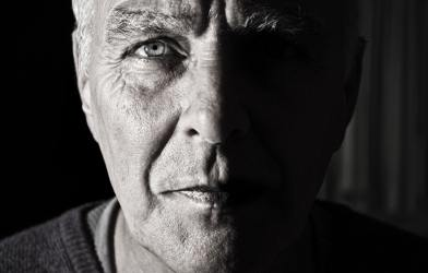 Older man close-up