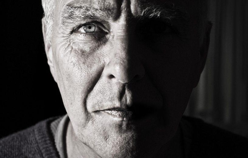 Older man close-up
