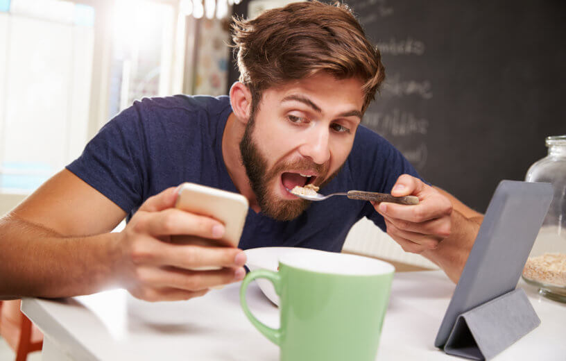 Image result for adults staring into phones