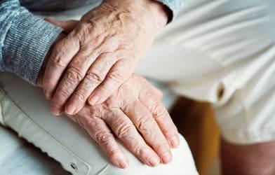Elderly, older hands