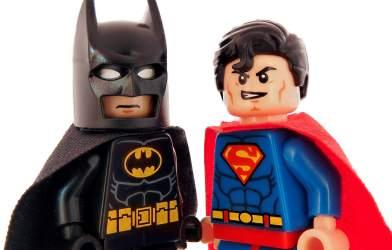 Lego Batman, Lego Superman