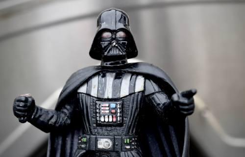 Darth Vader figure from Star Wars