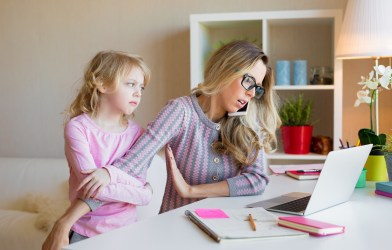 Woman too busy with work for child