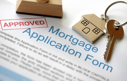 Approved mortgage application form