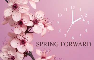 Spring Forward - Daylight saving